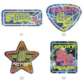 M Patch neon sport