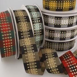 Tartan elastic band