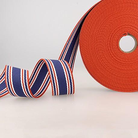 Three-toned striped strap