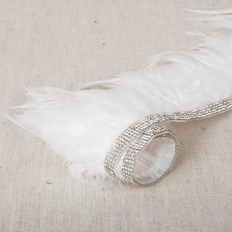 Feathers fringes IRON ON