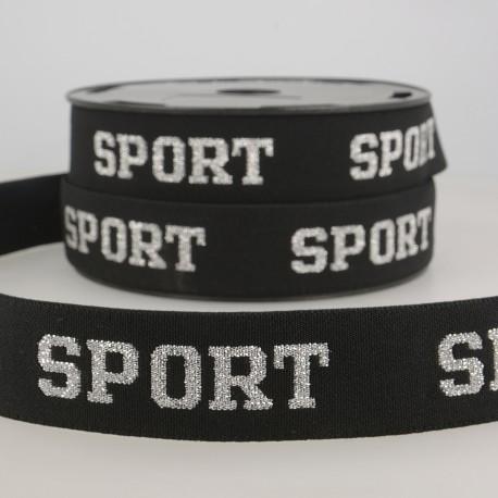 """Iridescent elastic """"Sport """""""