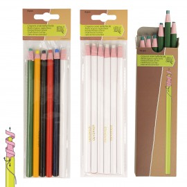 CRAYONS CRAIE TAILLE*6