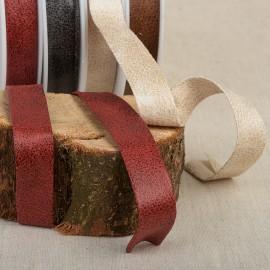 Schrägband Used-Effekte Kunststoff