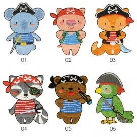 M Patch Animal Pirates