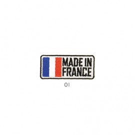 M Patch Made In France Re ctangle