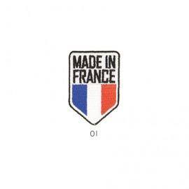 M Patch Made In France em blem