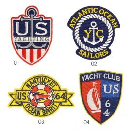 M Patch Maritime Emblem