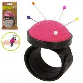 Slap-on wrist pin cushion 50mm