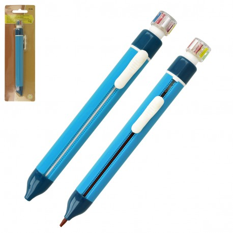 RETRACTABLE 6 IN 1 WATER SOLUBLE MARKING PENCIL