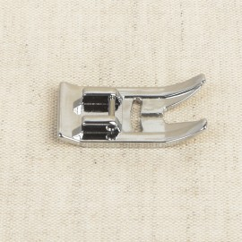 Smooth presser foot metal type for sewing machine