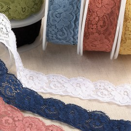 Elastic Lace flowers