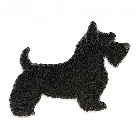 S Patch Scottish Terrier