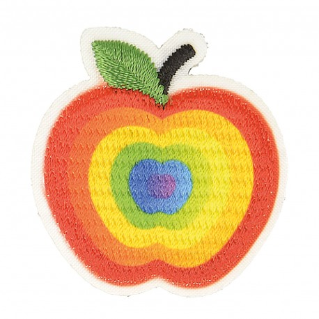 S Patch Crunched Apple,