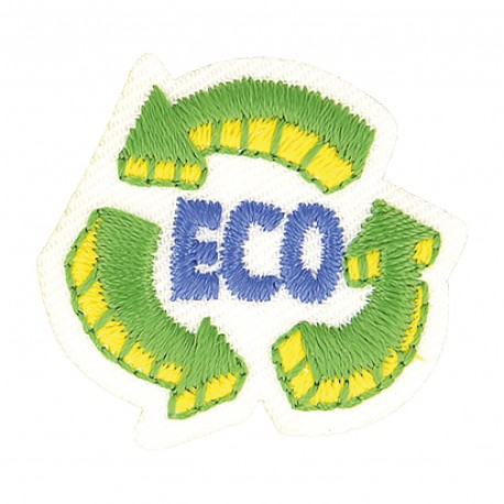 "Patch ""Eco-Friendly"""