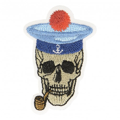 M Patch Skull