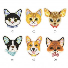 M Patch Colorful Animals