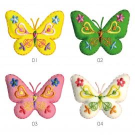 S Butterfly Felt&patterns