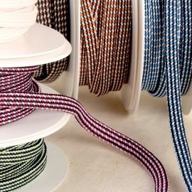 Multi-Color Braided Ribbon
