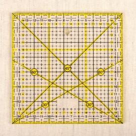 Quilting Ruler 15x15cm