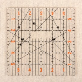 """Quilting Ruler 6x6"""""""