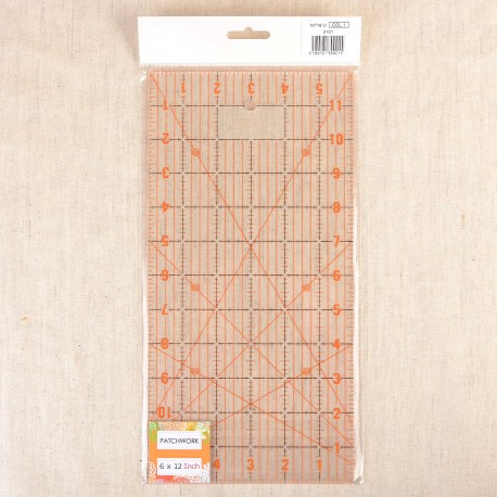 """Quilting Ruler 6x12"""""""