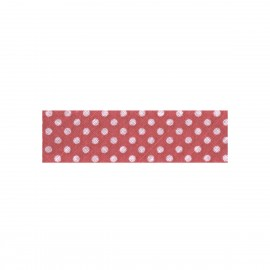 Cotton dot bias binding