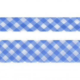 Gingham bias tape