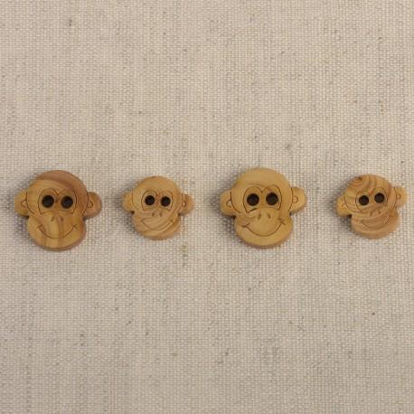 Wooden Buttons For Children