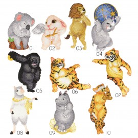 """M Patch """"Animal Statues"""""""