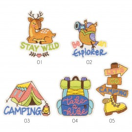 M Patch Let's go camping