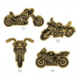 """M Patch """"Motorcycle"""""""
