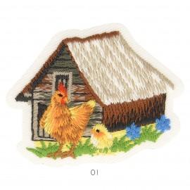 """M Applikation """"Bauernhof"""""""