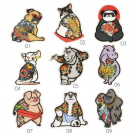 M Motivo animali tatuati