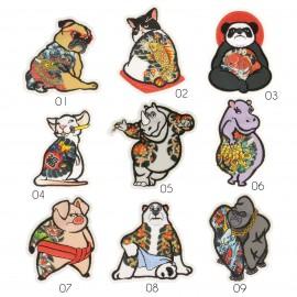 M Patch tattooed animals