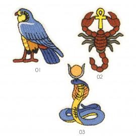 M Aplique animales egipci os