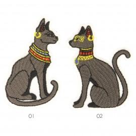 M Aplique gatos egipcios