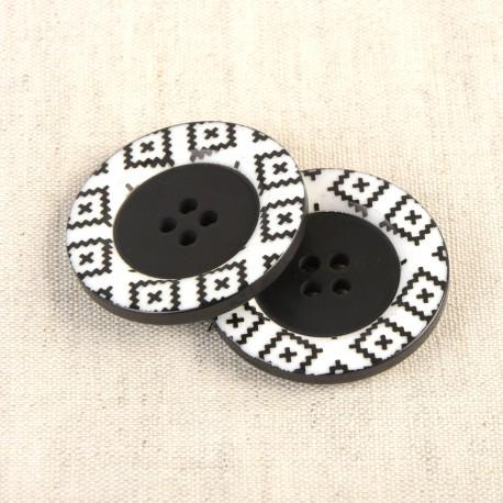 4-Hole Motiv Button