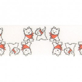 Dogs bias tape 20/13,5