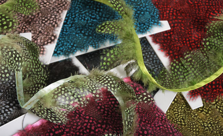 frange, plumes, tissus, textile, décoration, bijoux, loisirs, créatifs, sacs, meubles
