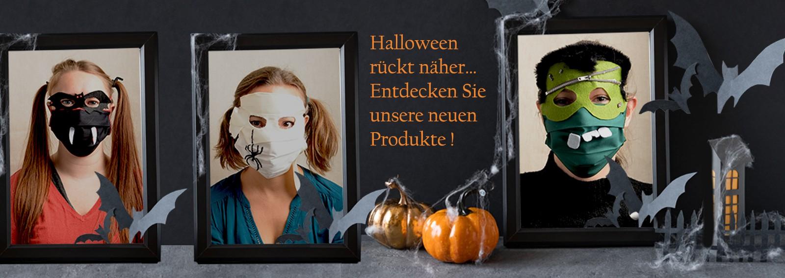 Halloween rückt näher… Entdecken Sie unsere neuen Produkte !