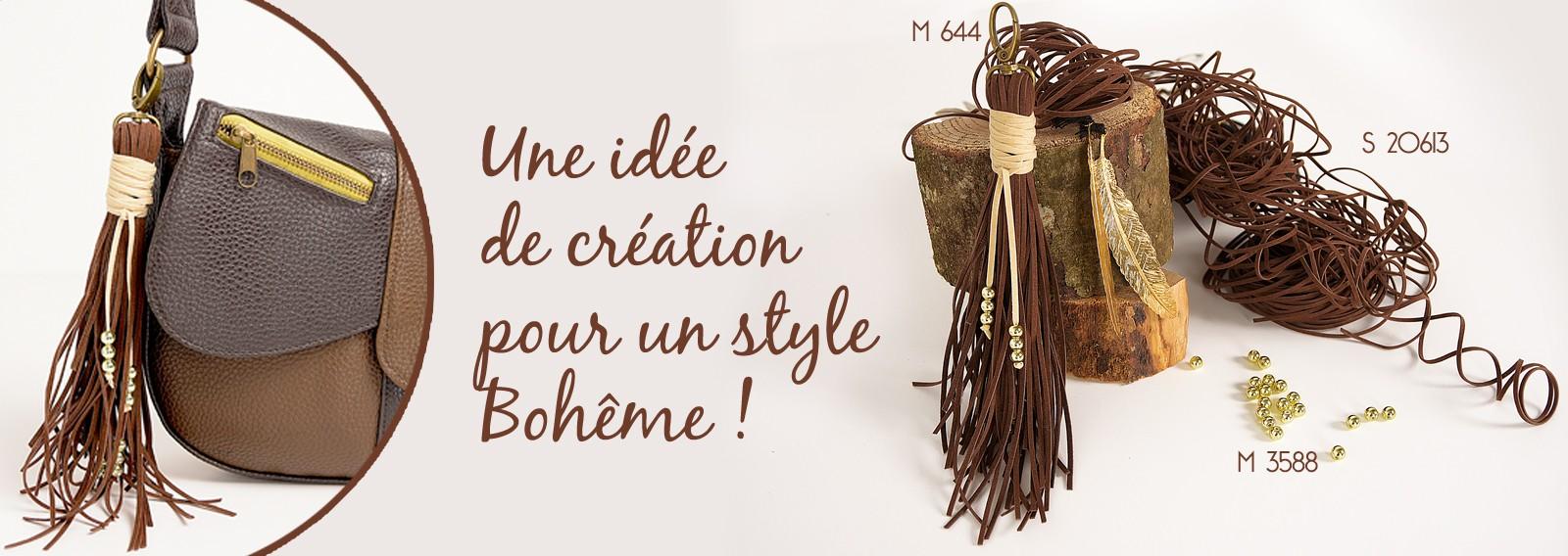 Une idée de création pour un style Bohême !