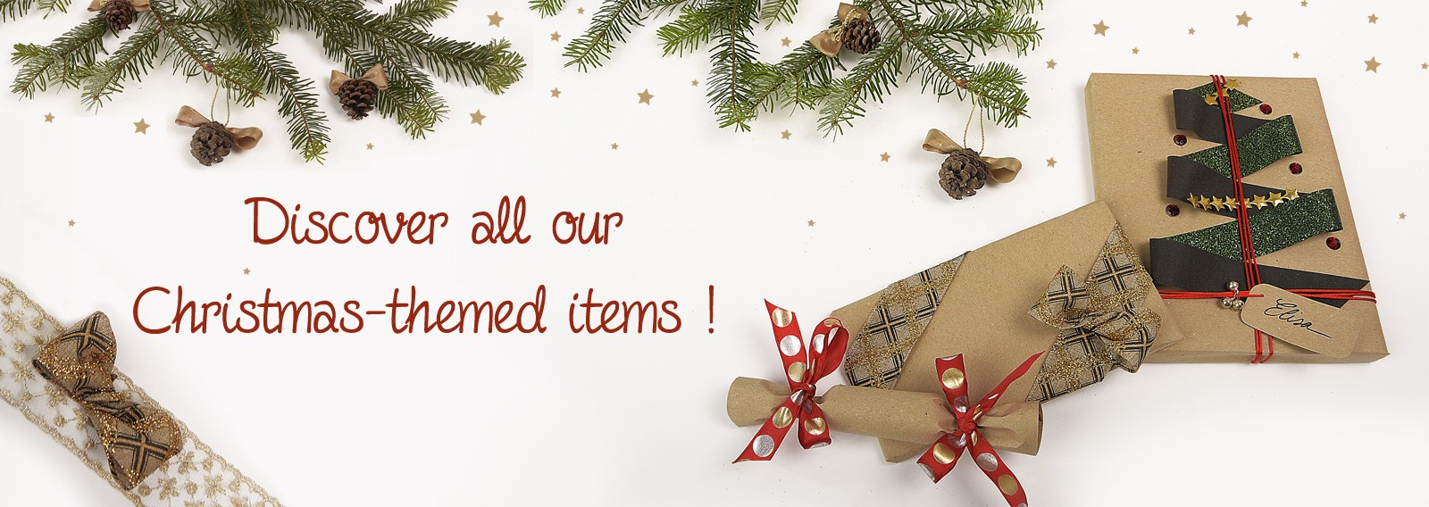 Discover all our Christmas-themed items !