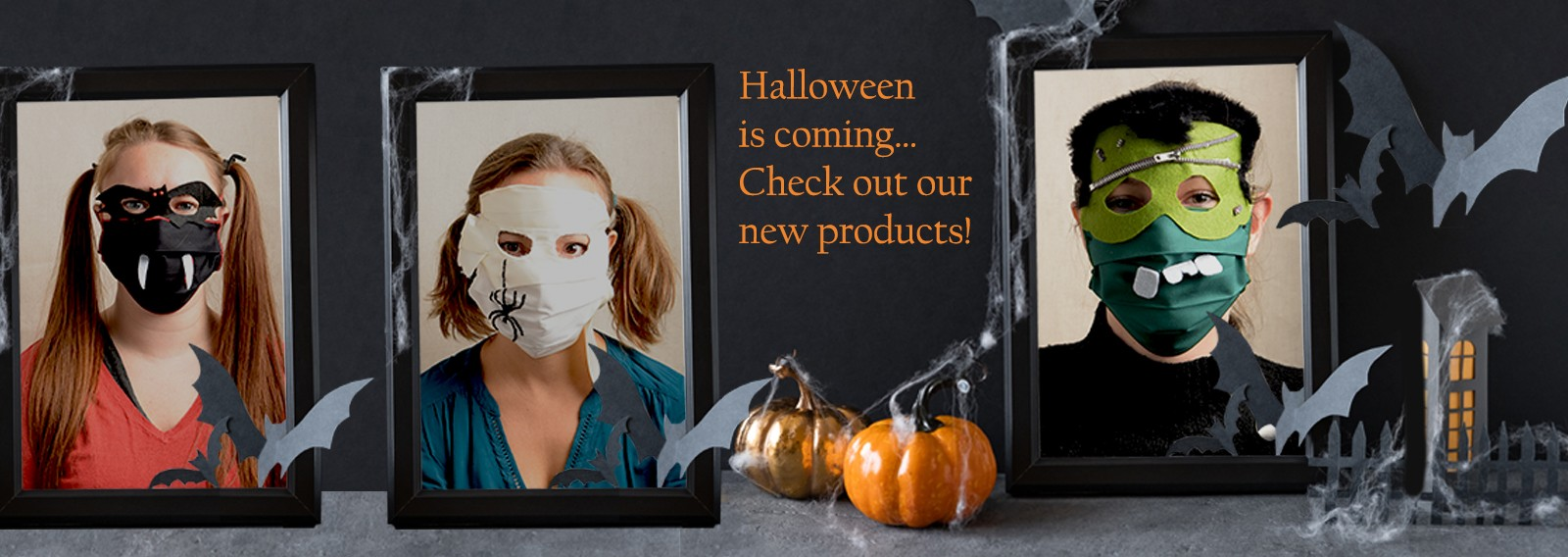 Halloween is coming… Check out our new products!