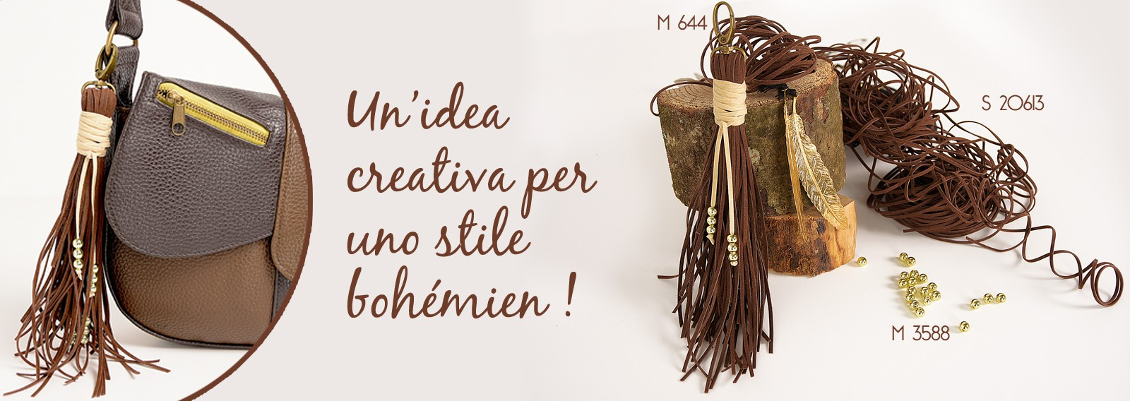 Un'idea creativa per uno stile bohémien !