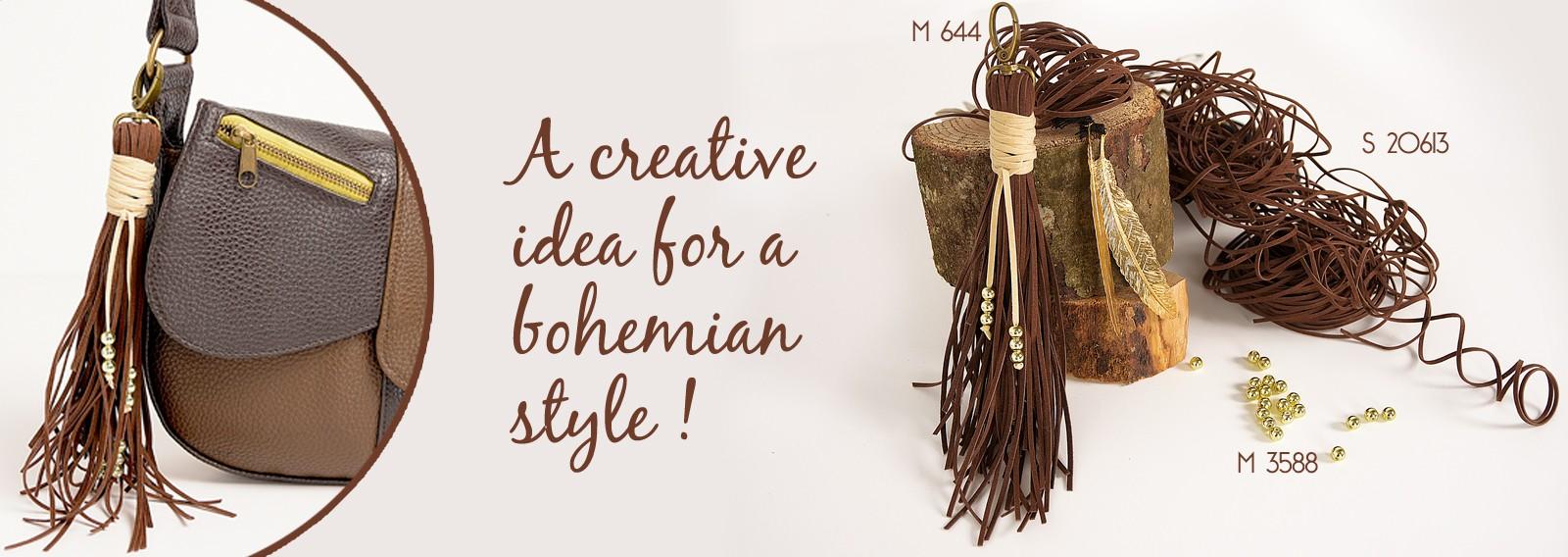 A creative idea for a bohemian style !